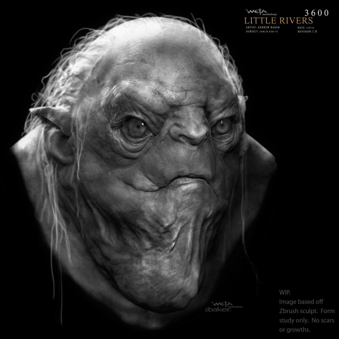 The Blog of the Hobbit: Andrew Baker's Goblin Designs