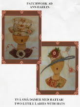 Mönster med två små damer