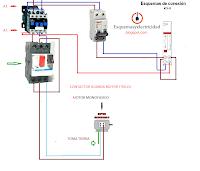 contactor guardamotor reloj horario motor monofasico