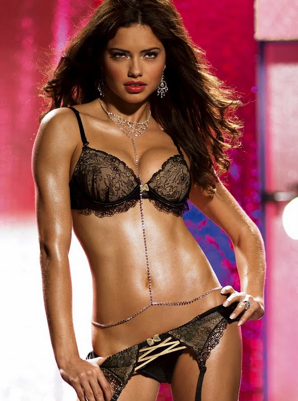 Adriana Lima - Victoria's Secret Lingerie Photoshoot