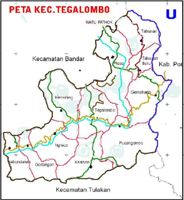 Profil Kecamatan Tegalombo Kabupaten Pacitan Provinsi Jawa Timur