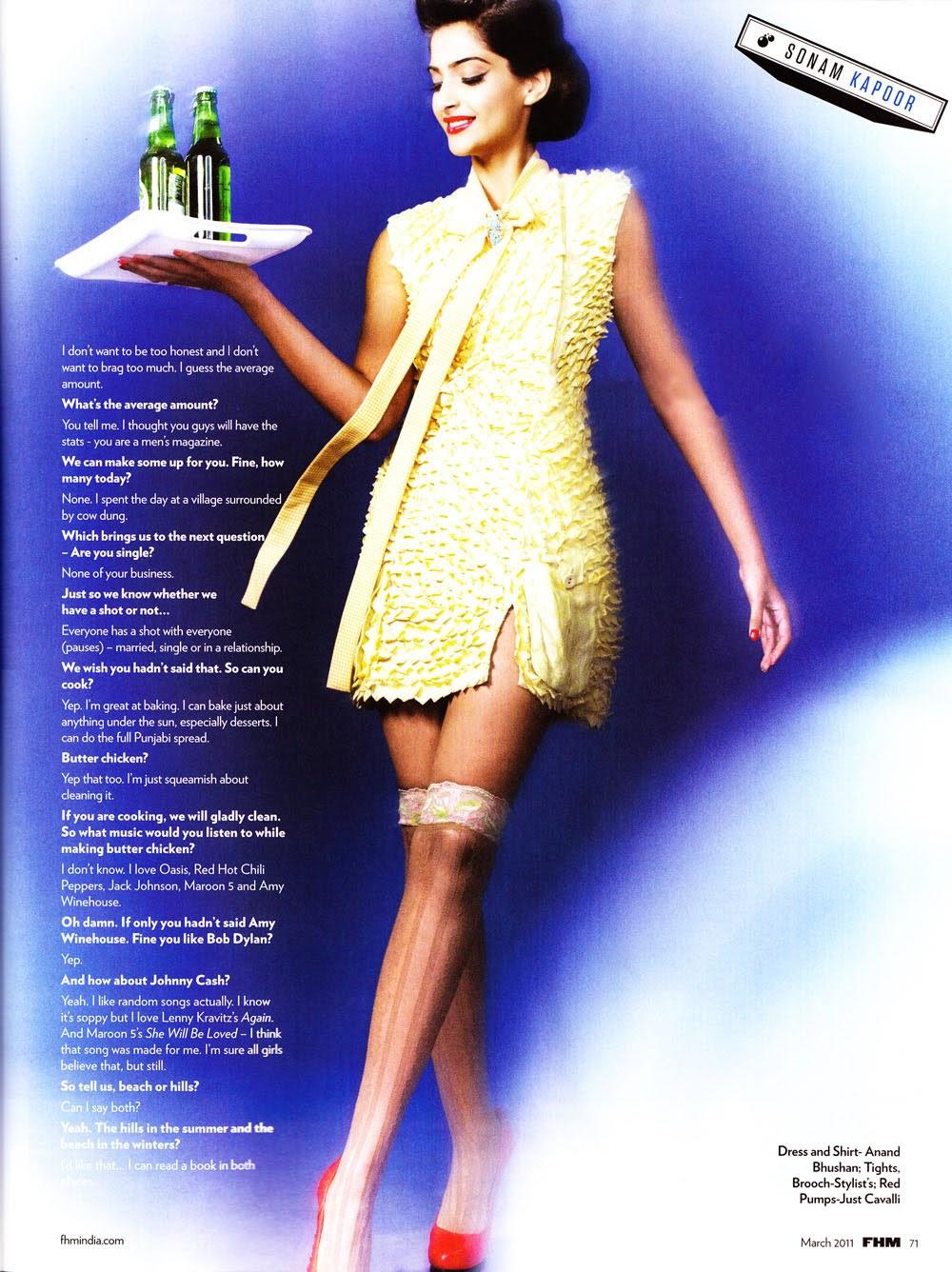 Sonam Kapoor in classy maid uniform