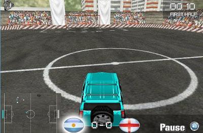 4x4 Futbol Oyun