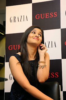 Alia Bhatt Super Cute in Sleeveless Short Dress at Launch of Grazia Magazine