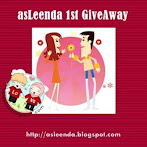 @8 april: asleenda 1st Give Away