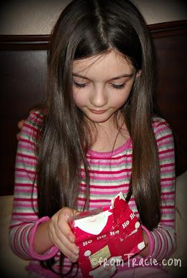 Katarina Opening A Present
