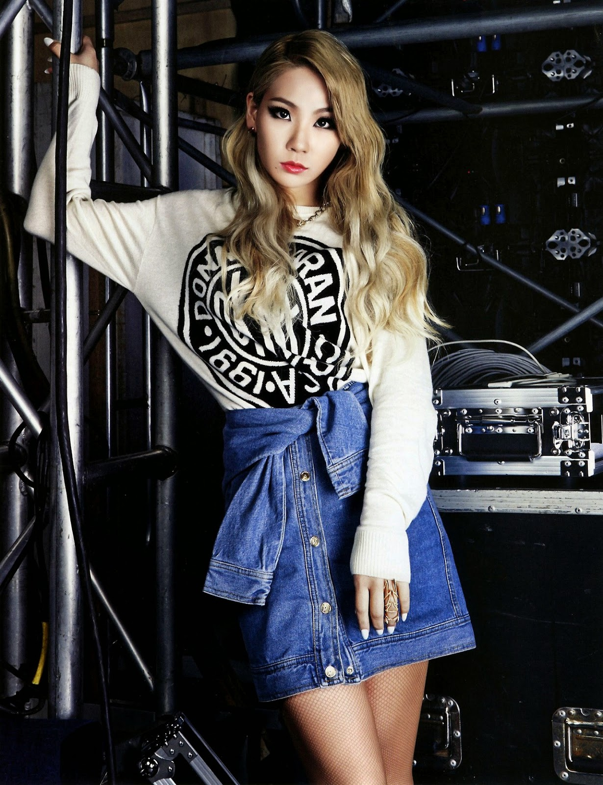 CL 2NE1 - Harper's Bazaar Magazine May Issue 2014