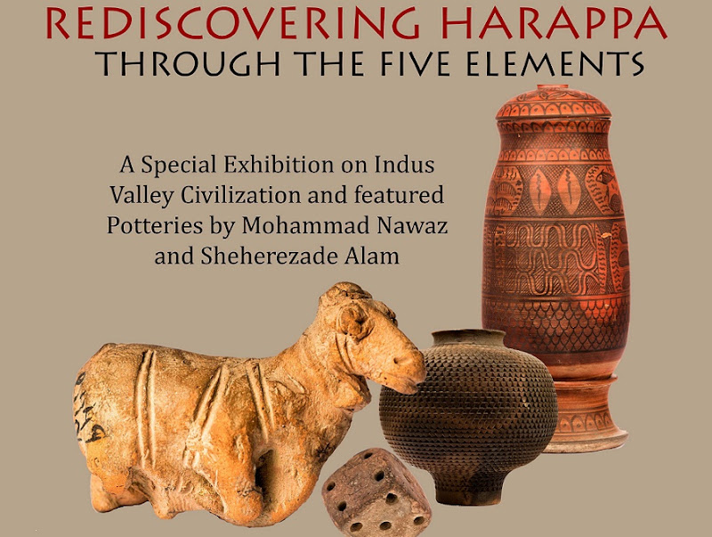 'Rediscovering Harappa: Through the Five Elements' at Lahore Museum, Pakistan