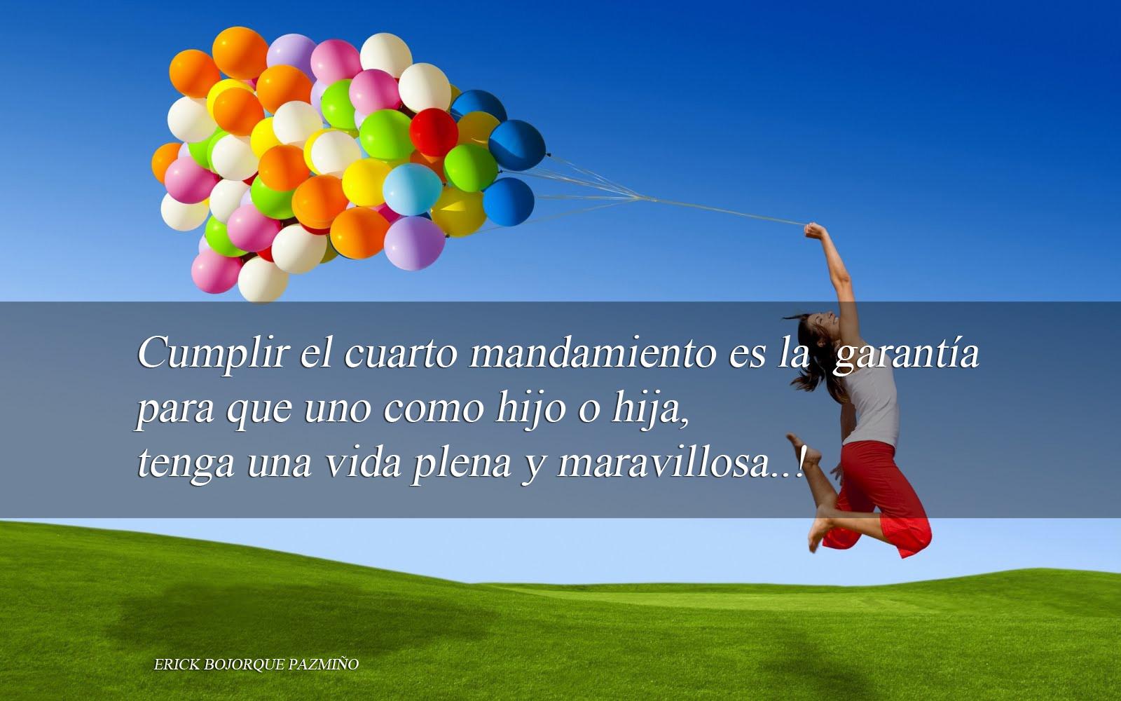 Como el Bambú: El Cuarto mandamiento...¡Alegría de Vida!