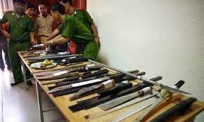 Vũ khí do lực lượng 141 thu giữ được