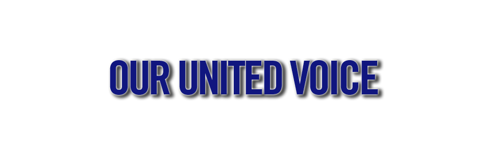 Our United Voice's Company logo
