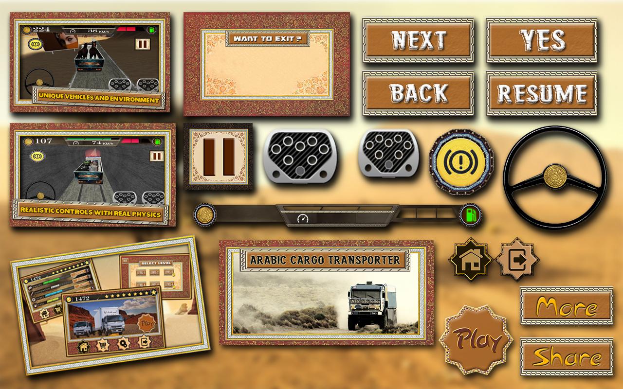 SanwalAf Game UI And GUI Designer Mobile Game UI Designs - Game ui design
