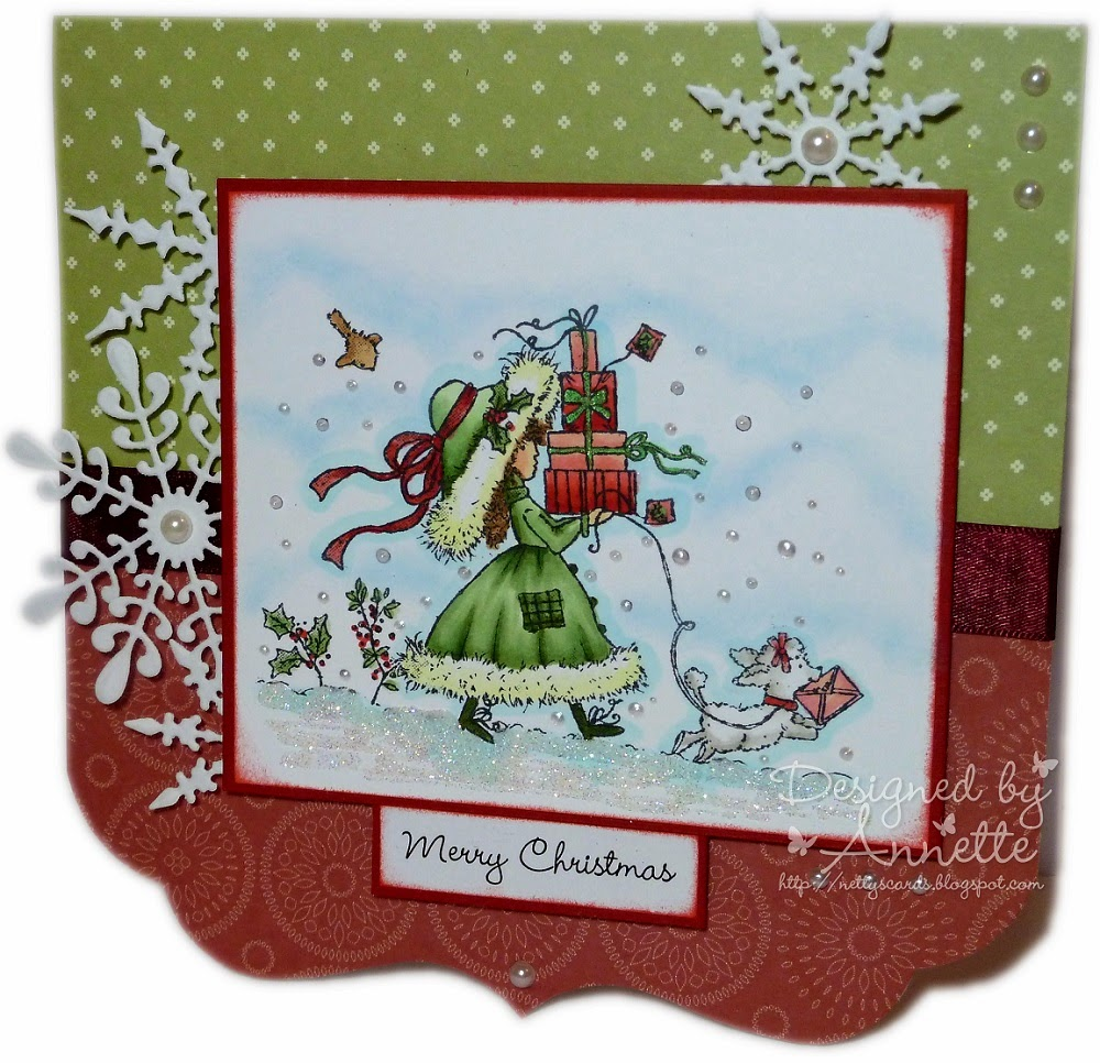 wild rose studio annabelle and tree - Annabelle Christmas
