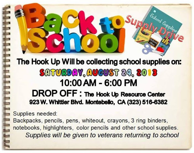 montebello mom  school supply drive  montebello  8  24