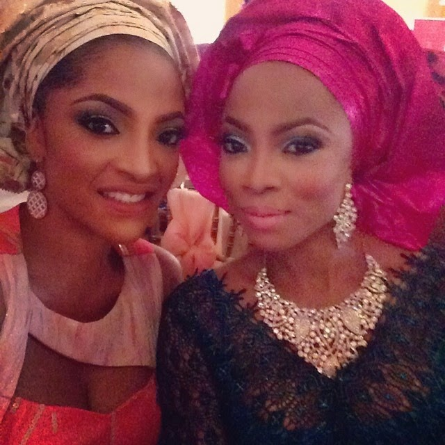 Tiwa Savage, Don Jazzy, Funke Akindele Other Celebrities At Dr Sid's Wedding – Photos