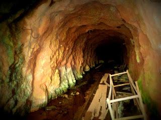 A Mina Subterrânea ficou inundada em Minas do Camaquã.
