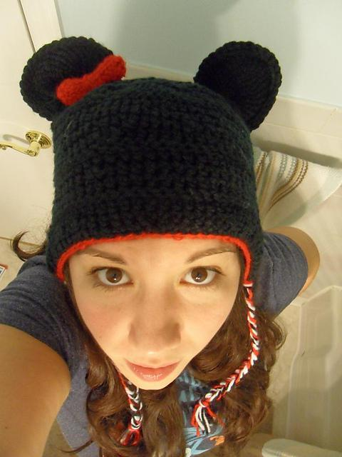 Free Crochet Patterns For Disney Hats : Picturing Disney: My Original Disney Crochet Patterns