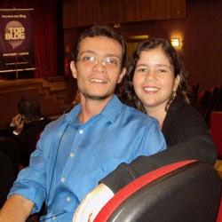 Ari Cabral e Amanda Aouad