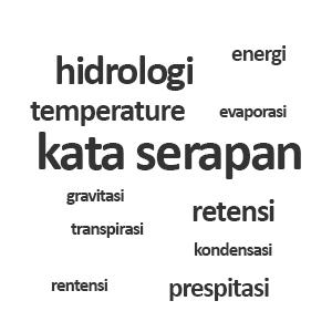Makna Kata atau Istilah Serapan, Hidrologi