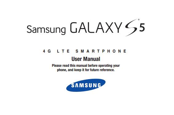 Samsung Galaxy S 5 Manual (U.S. Cellular)