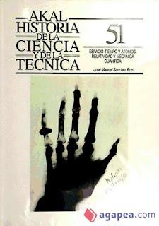 """""""Espacio, tiempo y átomos"""" - José Manuel Sanchez Ron."""