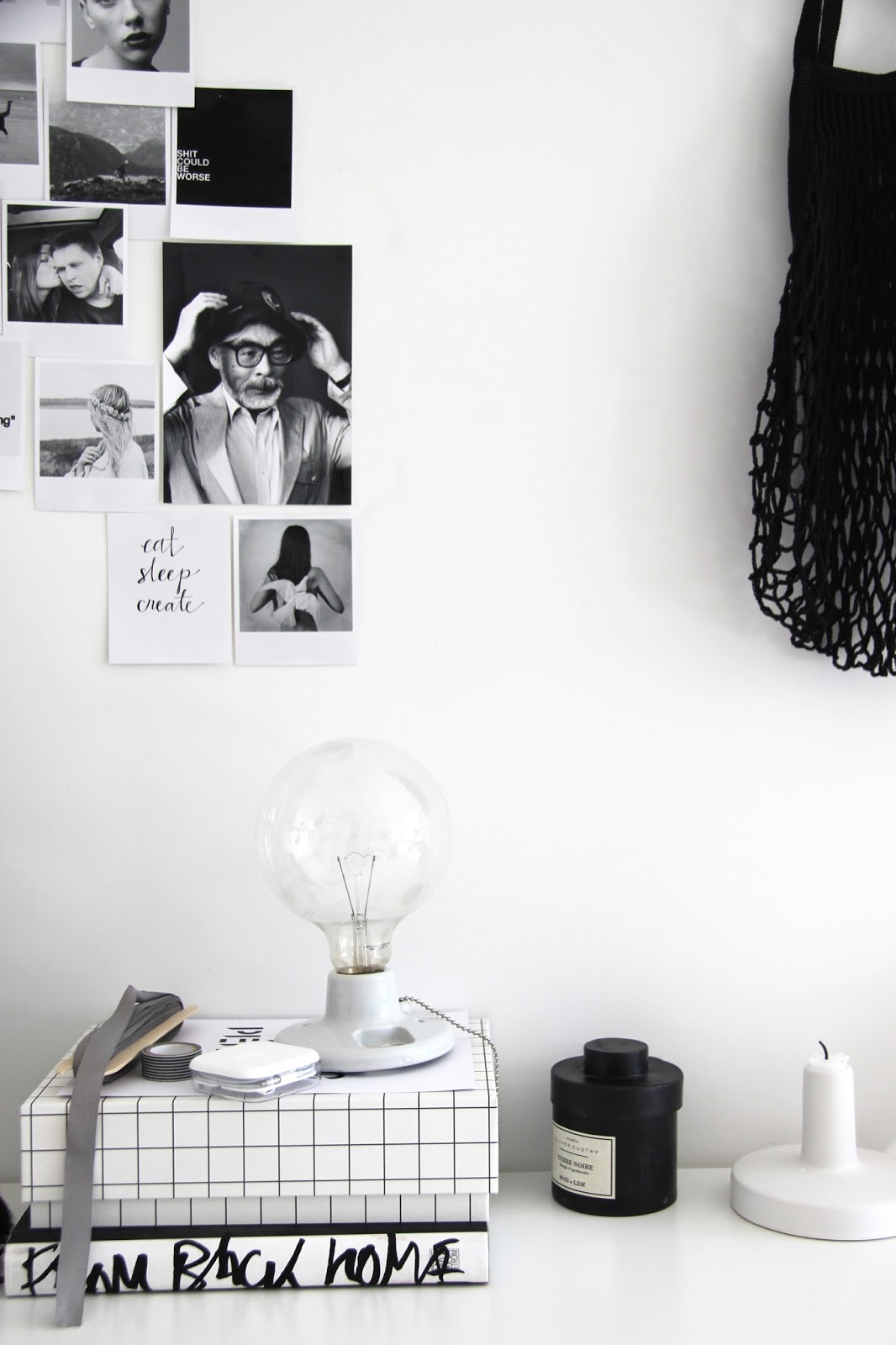 work space, minimalistic work space, scandinavian interior via http://www.scandinavianlovesong.com/