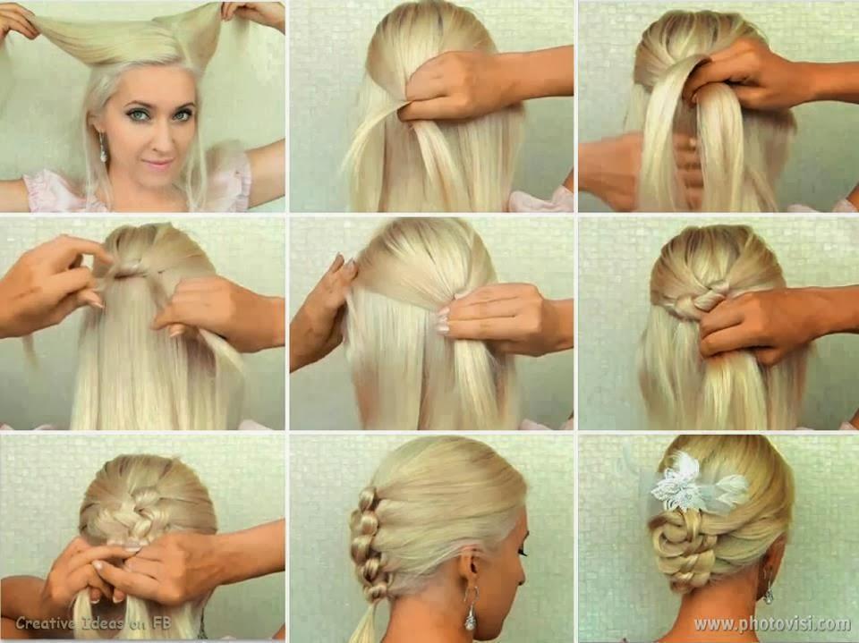 Легкие прически на каждый день фото на длинные волосы 150