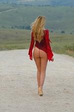 """Tatiana in """"Dirt Road"""" at The Life Erotic"""