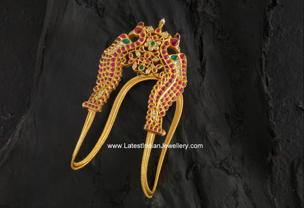 Rubies Peacock Traditional Vanki