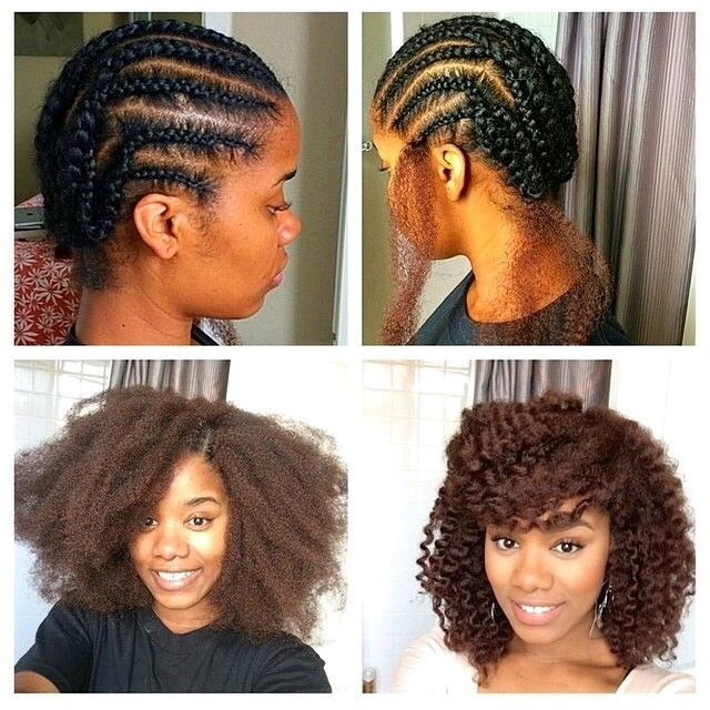 Crochet Braids Too Thick : The Curly Christian Girl: Protective hairstyles - The Good and Bad