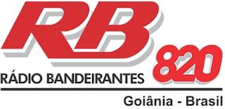 Rádio Bandeirantes AM 820 de Goiânia GO ao vivo