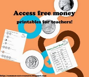 Free money worksheets