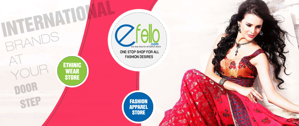 Efello | Fashion apparel store | Indian ethnic store | www.efello.com