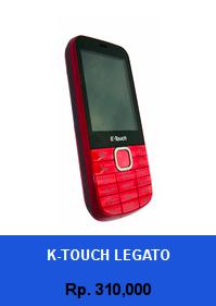 Daftar HP Murah K-Touch Legato - wedhanguwuh.com