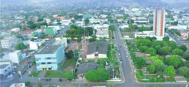 Cidade de Cacoal, em Rondônia