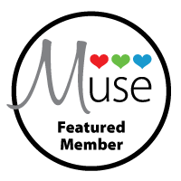 Honoured and thrilled to be one of three Muse Featured Members