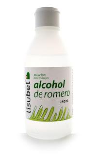 Propiedades del alcohol de Romero