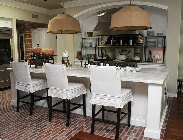 Brick Kitchen Floor1. Brick Kitchen Floor