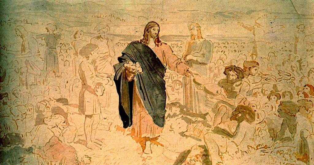Image result for Jesus gives abundance