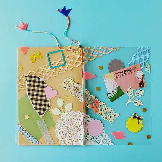 Hello Sandwich x Martha Stewart Crafts Japan Clear Cover Notebook Workshop