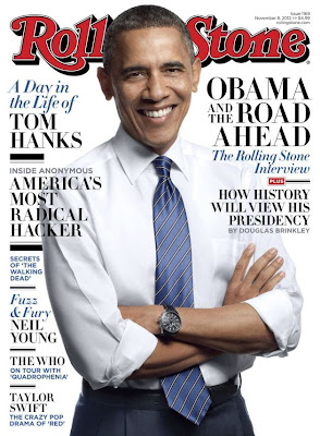 President Obama on Cover of Rolling Stone Magazine