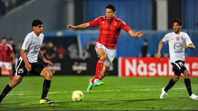 موعد وتوقيت مشاهدة مباراة الاهلى المصرى والنجم الساحلي التونسي غدا السبت