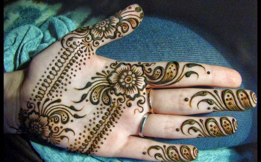 Mehndi Patterns Diwali : Diwali special mehendi design makedes