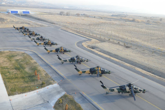 T-129 ATAK helicopters