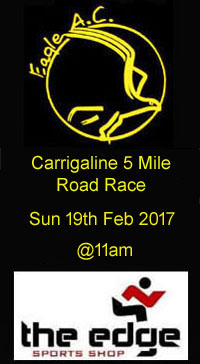 Annual Carrigaline 5 mile road race