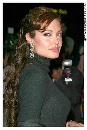Angelina Jolie Hair Extensions 41