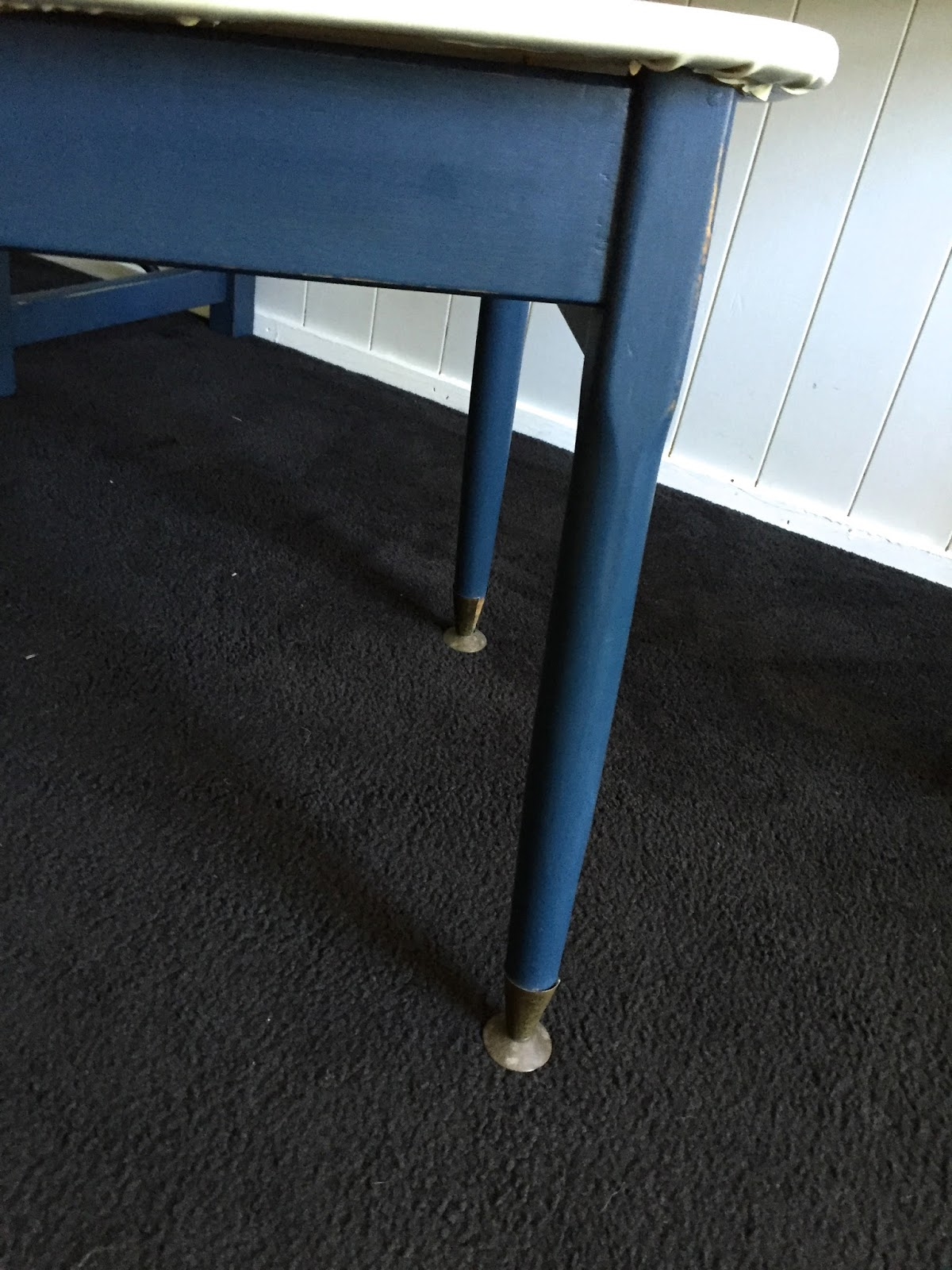 pressed metal furniture. Iconic Australian Vintage Chair - Pressed Metal In Tan With Off White Chippy Painted Legs. I Have Sanded And Sealed The Whole Satin Poly To Furniture