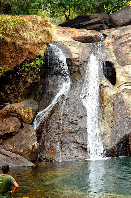 The secluded waterfall and the memorable dips