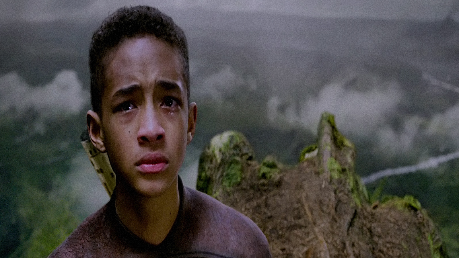 Jaden Smith After Earth fear crying