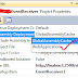 This solution contains no resources scoped for a web application and can not be deployed to a particular web application